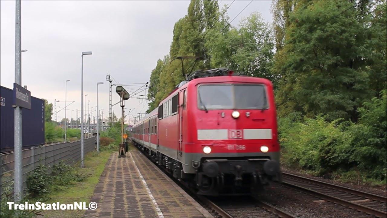 DB 111 096 met N wagen te Rheinhausen Ost