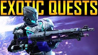 Destiny - NEW EXOTIC QUESTS!