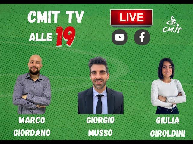 🔴CMIT TV - Juventus-Cagliari: tutte le ultime dallo Stadium e non solo!