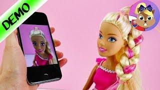 Veľká Barbie | Účes pre Barbie | Barbie účesy | Hra na kaderníctvo | Barbie 43 cm | XXL Barbie
