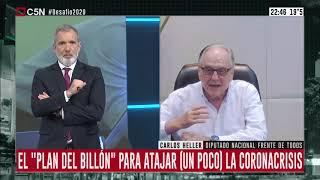 20-04-2020 - Carlos Heller en C5N – Desafío 2020, con Pablo Duggan -#TributoExtraordinario