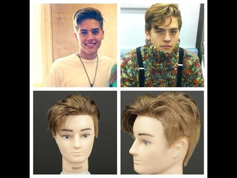 Dylan Sprouse Haircut Tutorial &  Hairstyle 2014
