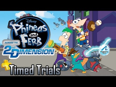 Timed Trials: Episode 02 - Phineas and Ferb Across the 2nd Dimension | Too Much Gaming