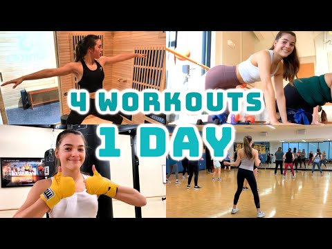 We Tried 4 Different Workout Classes in 1 Day