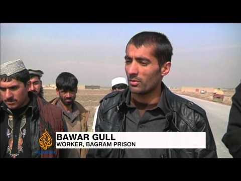 Afghan government releases Bagram inmates