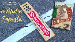 Crono Sappada - 500 Km delle Dolomiti