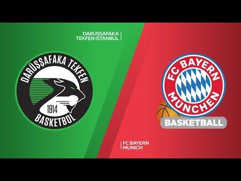 Darussafaka Tekfen Istanbul - FC Bayern Munich Highlights | EuroLeague RS Round 29