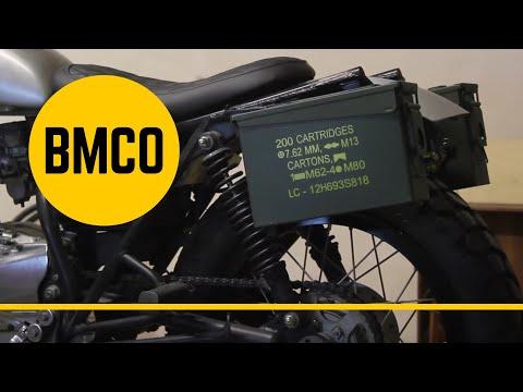 Yamaha SR 250 - Metal Cargo Boxes