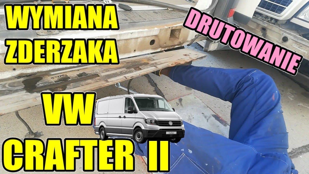 Niedziela Druciarstwa - Wymiana Zderzaka Tylnego VW Crafter oraz Dłubanie Passata Ogrodnika! SPARING