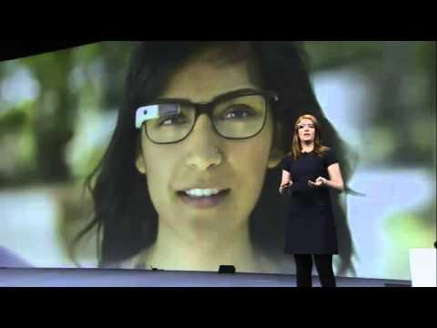 Amazing Google Glasses Demonstration by Sergey Brin