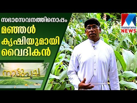 Meet the missionary busy with Turmeric farming  | Manorama News