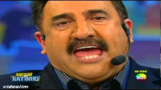 Ratinho fala pra manifestantes tomar Vergonha na Cara , ao vivo   Programa do Ratinho 29102013