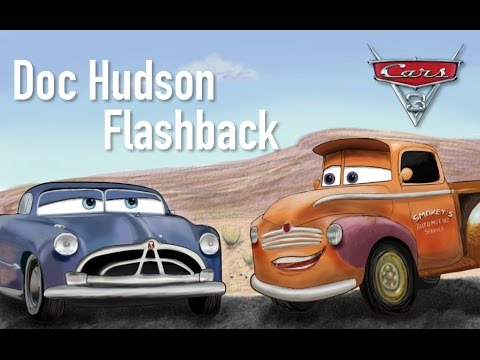 cars 3 doc hudson flashback smokey speculation. Black Bedroom Furniture Sets. Home Design Ideas