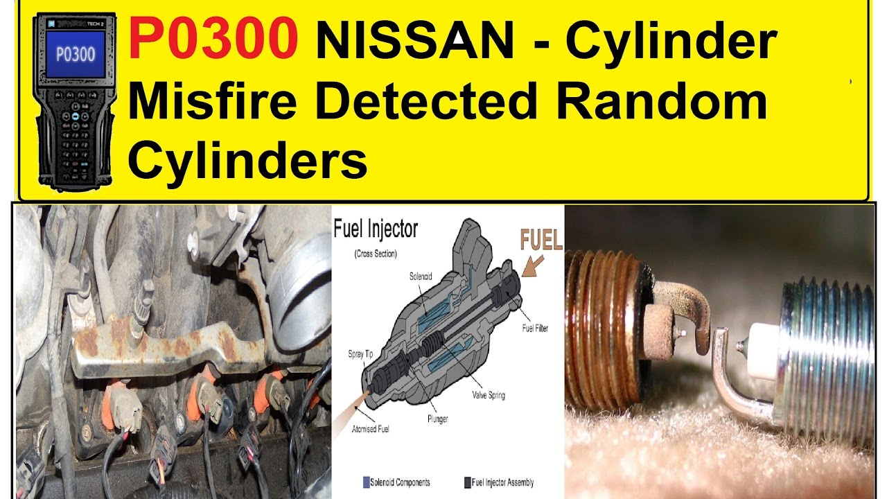 P0300 NISSAN Cylinder Misfire Detected Random Cylinders - YouTube
