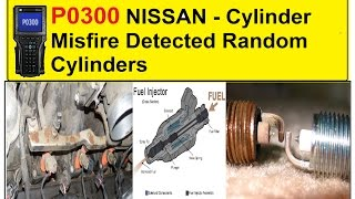 P0300 NISSAN   Cylinder Misfire Detected Random Cylinders