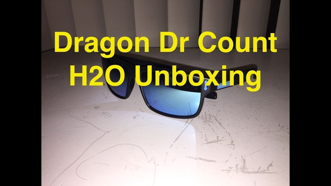 e67a30eae7 Dragon DR Count h2o unboxing - YouTube