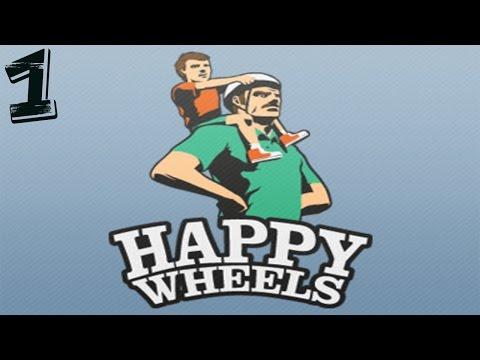 УГАРАЕМ С БАТЯНЕЙ! | Прохождение HAPPY WHEELS
