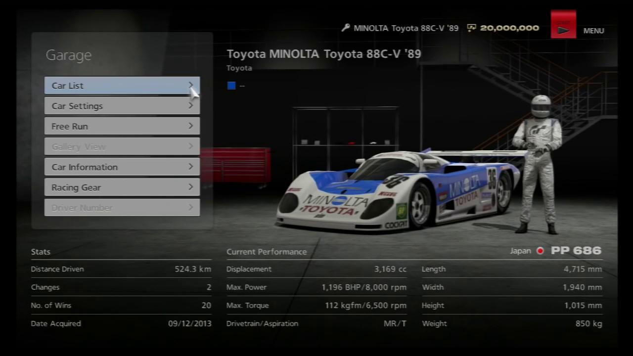 SALVATAGGI PS3 GT5 SCARICARE