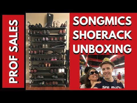 Building the SongMics Shoe Rack for Ebay Inventory