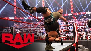 Keith Lee vs. Braun Strowman: Raw, Oct. 19, 2020