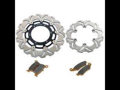 Suzuki LTR450 rotor and brake change