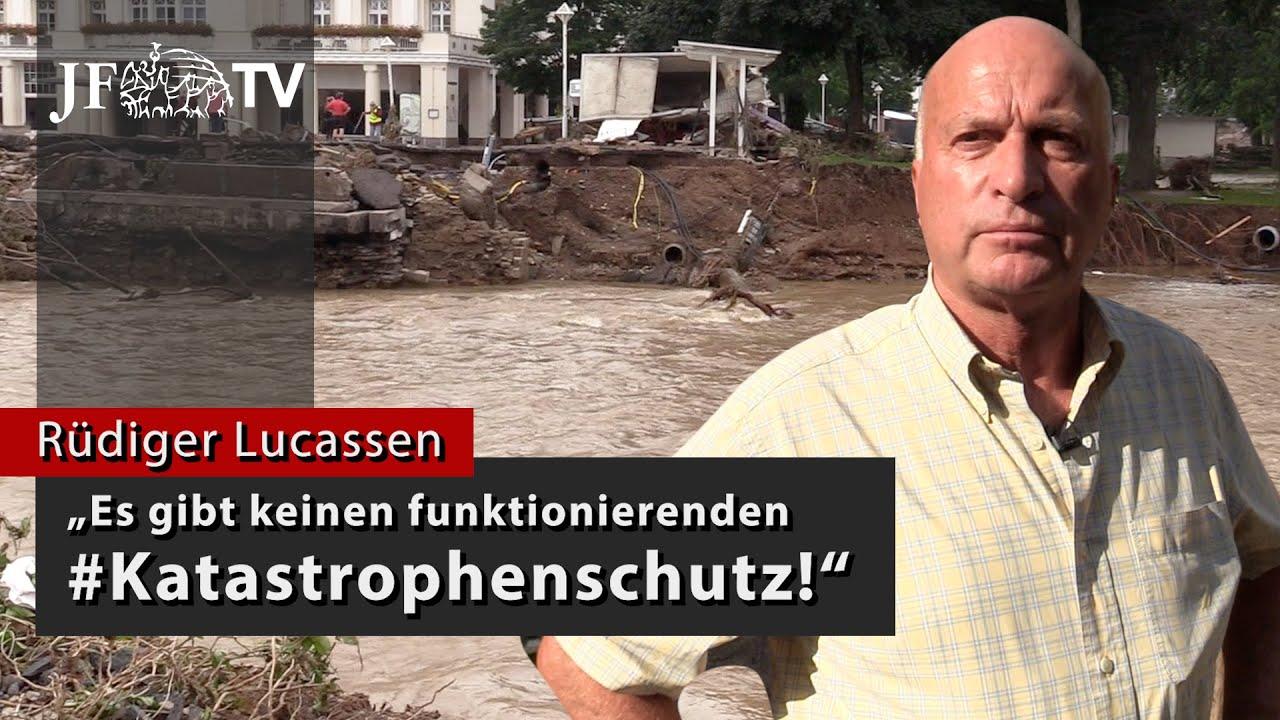 """""""Es gibt keinen funktionierenden #Katastrophenschutz!"""" (JF-TV Interview mit Rüdiger Lucassen)"""