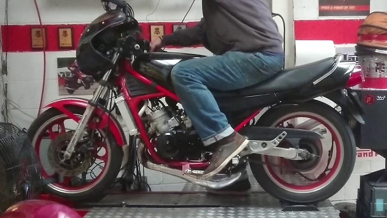 Yamaha RD 350 YPVS to Athena 392 part 4