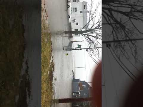 Flood in Houghs Neck  Quincy MA