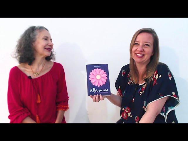 Entrevista com Alexandra Reschke sobre o livro A Flor da Cura - Parte 2