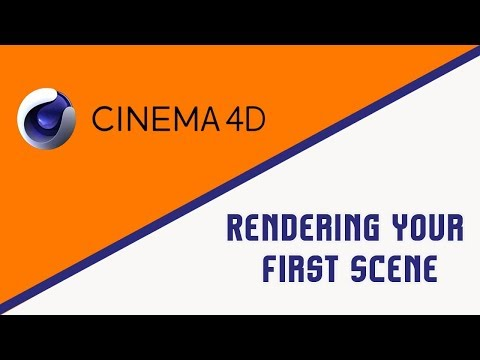 Cinema 4D | Rendering  Your First Scene | Steps To Perform Program 3 | Chapter 2 (Contd..)