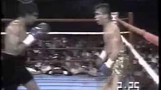 Maromero Paez Bailando en el Ring