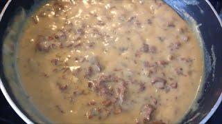 Рецепт Грибной соус из сушеных лисичек