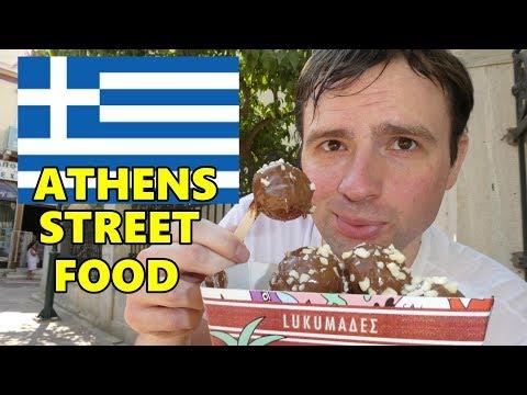 GREEK STREET FOOD | 10 Must Try Eats in Athens