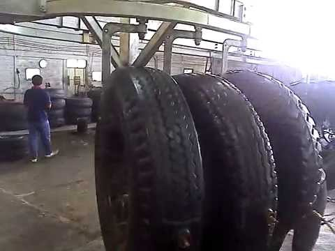 Tyre retreading - curing chamber by Champion-1 video.3gp