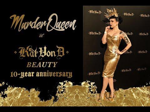 KAT VON D BEAUTY 10 YEAR ANNIVERSARY PARTY - Murder Queen
