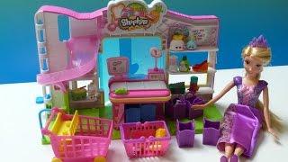 Đồ Chơi Siêu Thị SHOPKINS (Bí Đỏ) Shopkins Small Mart Princess Rapunzel Go Shopkins Supermaket