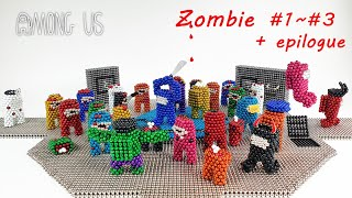 Magnetic Among Us Zombie Stop Motion Full Story