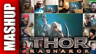Team THOR 3: Ragnarok Teaser Trailer Reactions Mashup