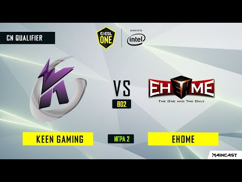 EHOME vs Keen Gaming vod