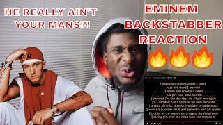 BACKSTABBER - EMINEM   EMINEM RESPONDS TO THE ULTIMATE BETRAYAL   REACTION