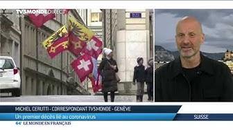 Coronavirus : la Suisse enregistre son premier décès