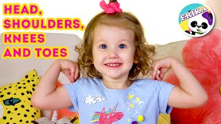 Head, Shoulders, Knees & Toes - Exercise Song for children   Ejercicios para niños   Toys and Erika