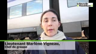 VIDEO. Le train immobilisé à Suèvres, les passagers évacués.