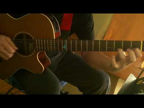 Classical Studies for Pick-style guitar(Study in C major)