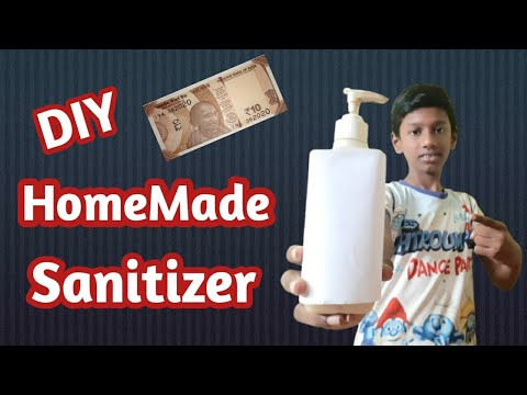 How to make #Sanitizer at home/#in Tamil