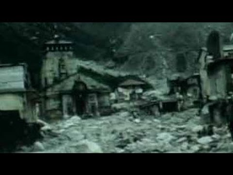 Watch latest video of Kedarnath, still inaccessible by road Travel Video