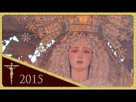 Nuestra Señora de los Ángeles - Hermandad de los Negritos (Semana Santa Sevilla 2015)