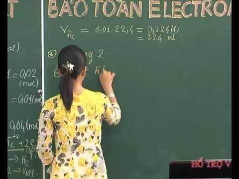 Bài Định luật bảo toàn Electron (P1) - Cô Nguyễn Lê Anh Phương