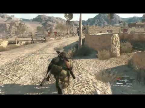 [New & Official] Metal Gear Solid V: The Phantom Pain E3 2015 Gameplay Demo