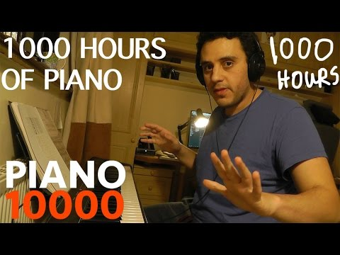 1000: One Thousand Hours of Piano